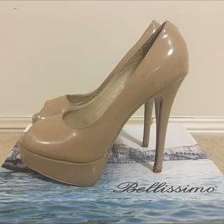 Nude Women's Heels Size 38