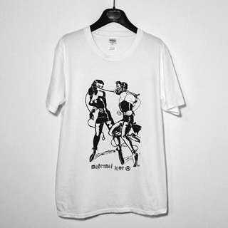 復古Vintage BDSM插畫 短袖T恤 龐克 Punk