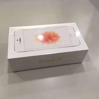 iPhone Se 16G 玫瑰金
