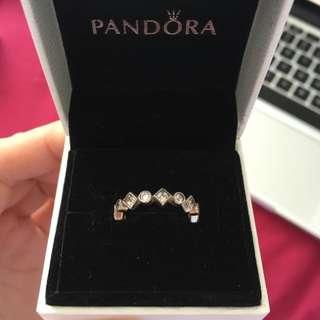 Pandora Ring Princess Cut
