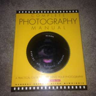 SOLD PENDING!! Photography Book