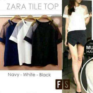 Zara Tile Top