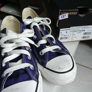 藍紫色all star帆布鞋