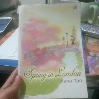Buku Spring In London