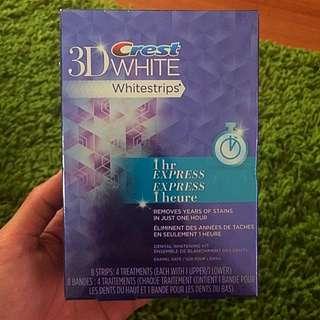 3D Crest White ( Whitestrips) 1 Hour Express