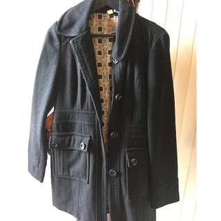 Modcloth Black Coat