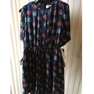 Louche Vintage Tea Dress - New with Tags