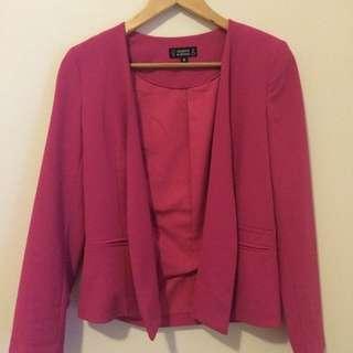Pink Jacket (XS / Size 8)