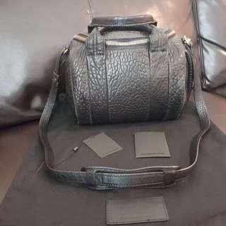 Alexander Wang Black Rockie Bag with Antique Brass Hardware $750
