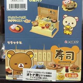 拉拉熊的壽司屋 日本料理 鬆馳熊 懶懶熊 rement