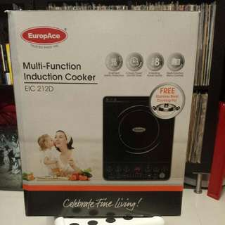EuropAce MultiFunction Induction Cooker EIC212F BNIB