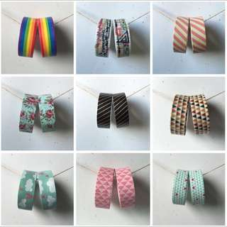 [CLEARANCE] Washi Tapes