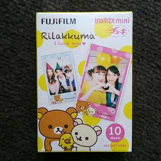 Fujifilm Instant Film Rilakkuma Collection