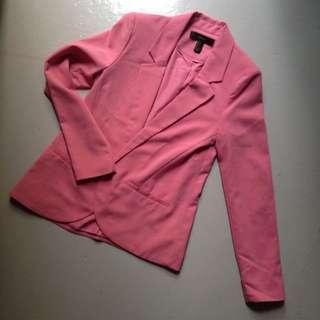 Forever 21 Pink Blazer
