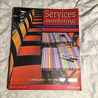 Service Marketing Textbook