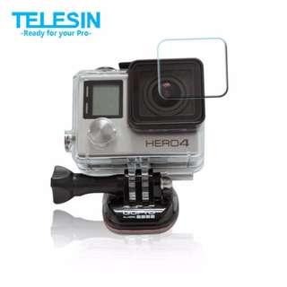 TELESIN 鏡頭保護貼 適用 GOPRO HERO3+ HERO4 GOPRO保護貼 傑能數位高雄店