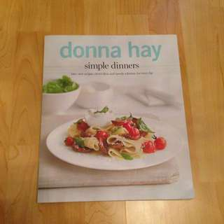 Donna Hay Simple Dinners Book - 140+ Recipes