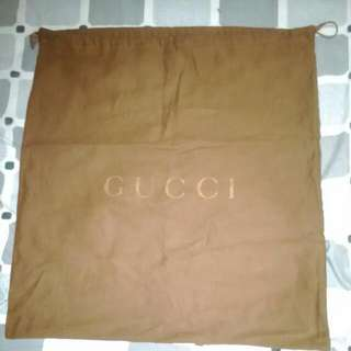 Authentic GUCCI Dustbag