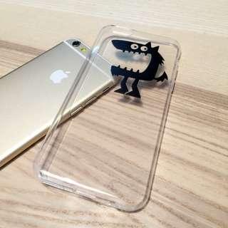 iPhone 6 s plus 5s se 趣味 卡通 毛怪 tpu 手機殼 軟殼 保護套