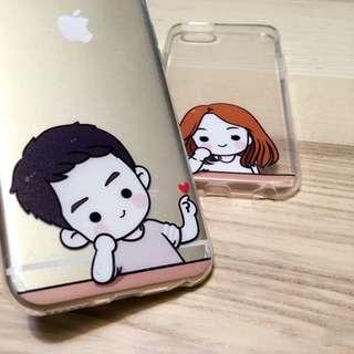 iPhone 6 s plus 5s 情侶殼 保護殼 軟 太陽 的後裔 韓風 ho