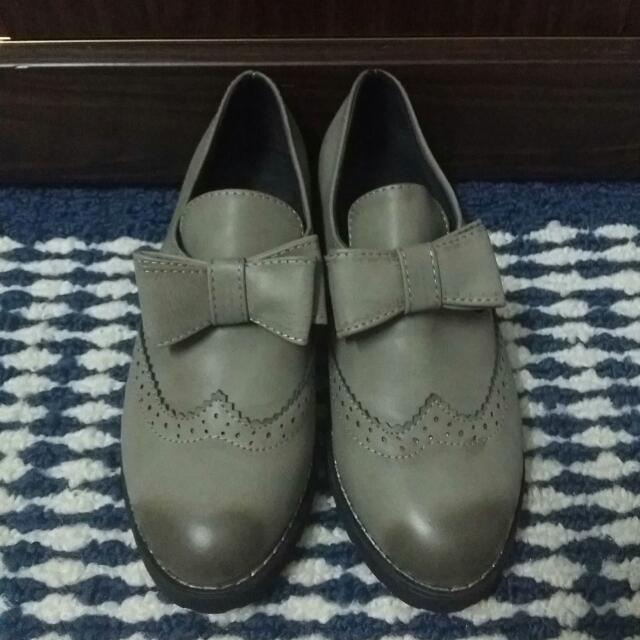 復古蝴蝶結紳士鞋