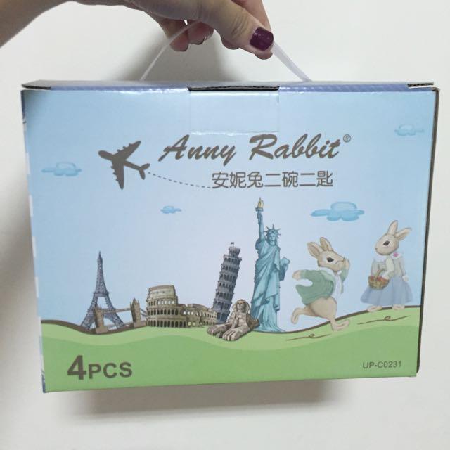 安妮兔餐碗