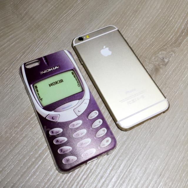 趣味 諾基亞 造型 nokia 仿真 iPhone 5s se 6 s plus 手機殼 保護套 軟殼