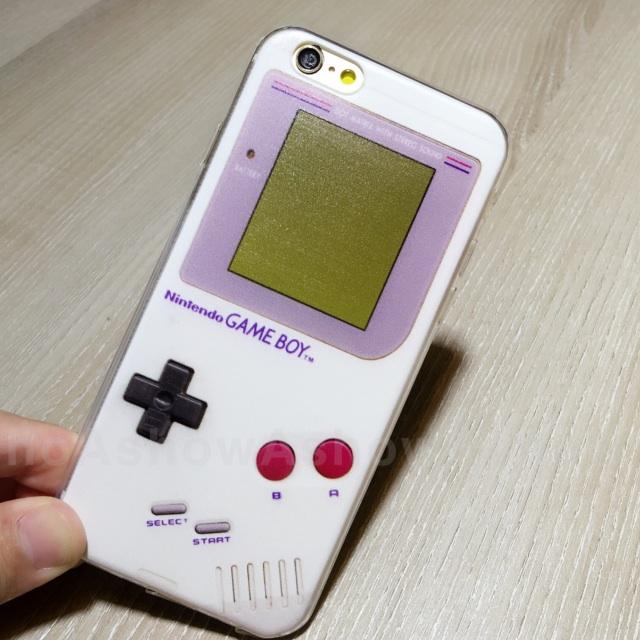 任天堂 game boy 造型 iPhone 6 s plus 5s se 保護殼 手機套 趣味 復古 軟殼