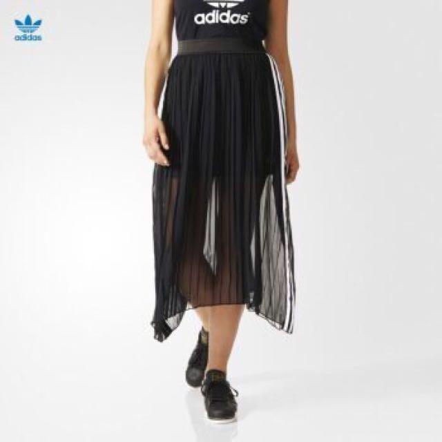 全新正品✨愛迪達adidas網球系列紗裙(黑)aj8521