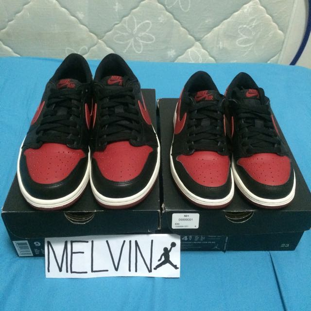 online store f3fc3 33bfd Air Jordan 1 Retro Low OG🔥FAST DEAL FOR 300 sgd for 2!!!, Sports on ...