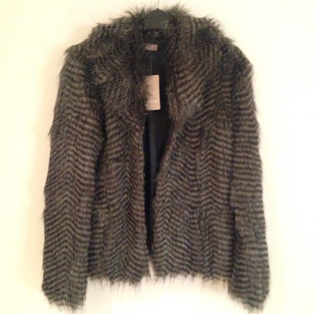 AWEAR Oversized Fur Jacket