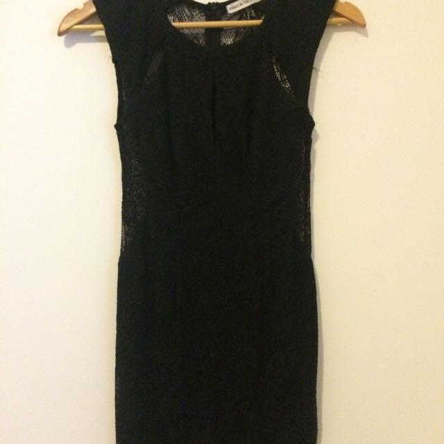 Black Lace Dress (XS / Size 8)