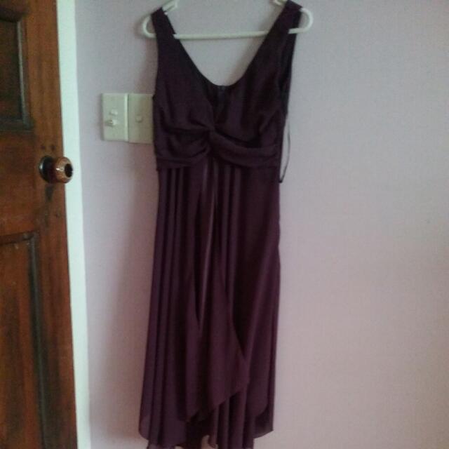 Chiffon Dress size 8.