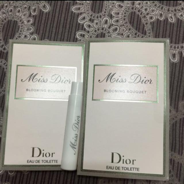 Dior 花漾淡香水 1ml*2入