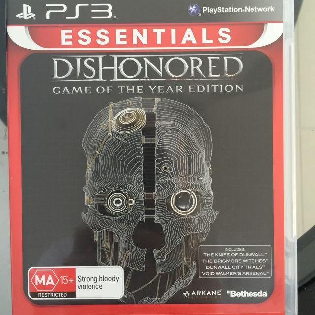Dishonoured PS3