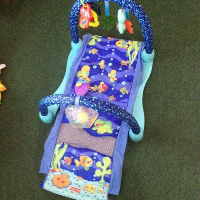 Fisher Price Aquarium Playmat