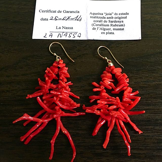 Gioielli Coralli Earrings From Italy