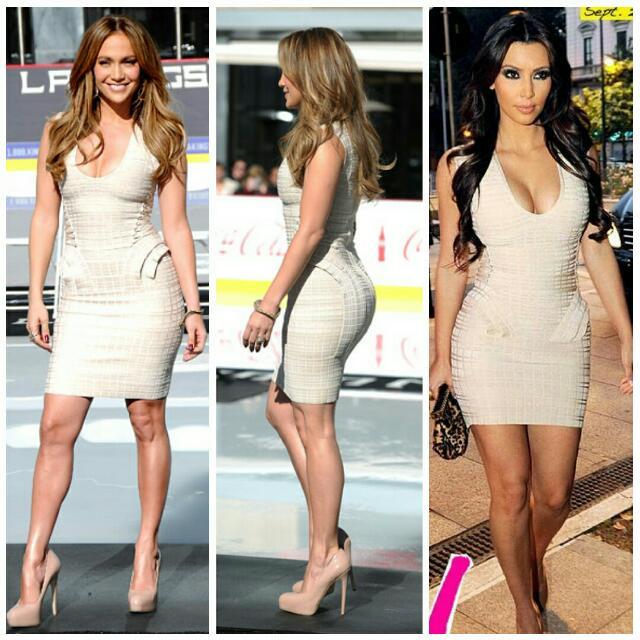 House Of CB/ Celebrity Boutique Bandage Dress BNWOT