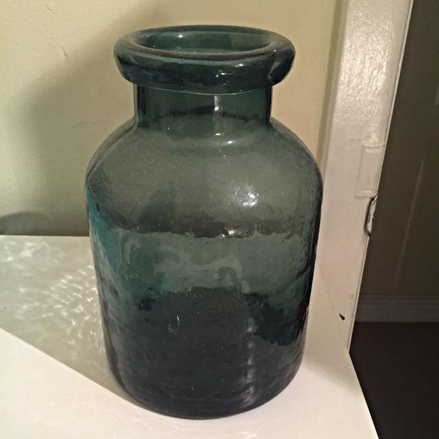 Huge Glass Display Vessel/vase