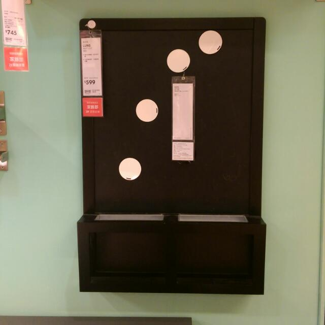 Ikea 造型黑板 留言板 全新