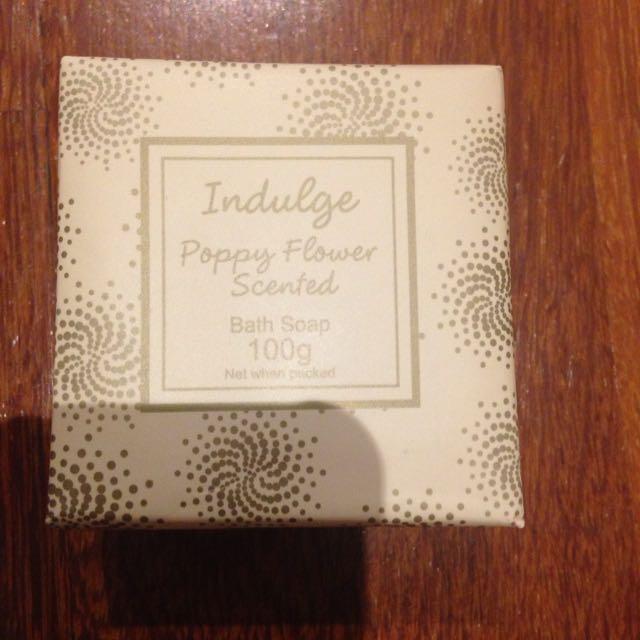 Indulge bath soap