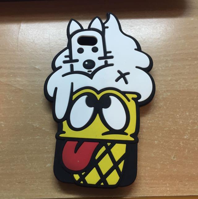 iPhone 6/6s 軟式冰淇淋造型手機殼