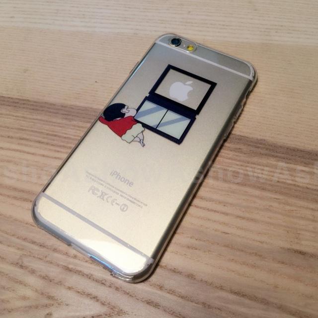 iPhone 6 s 5 s se 趣味 tpu軟殼 小新 看 電視 蘋果 appletv 手機殼 保護套 軟