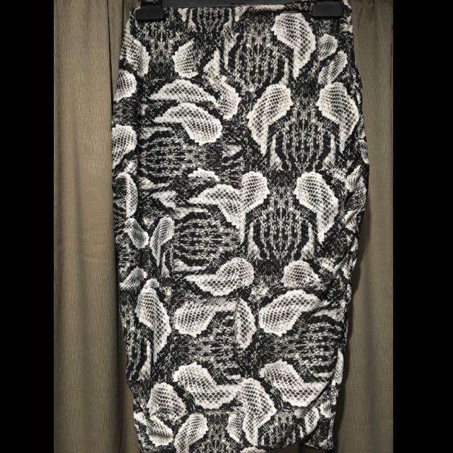 Kookai Print Skirt