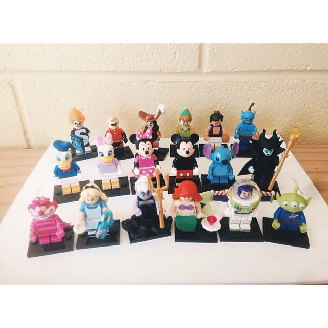 (降價)Lego Minifigures Disney 樂高 迪士尼 積木人