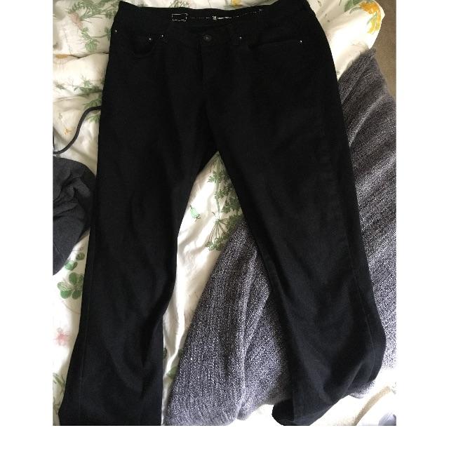 Levi Black Skinny Demi Curve Jeans 31