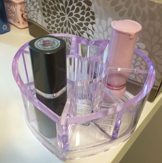 Lipstick storage!