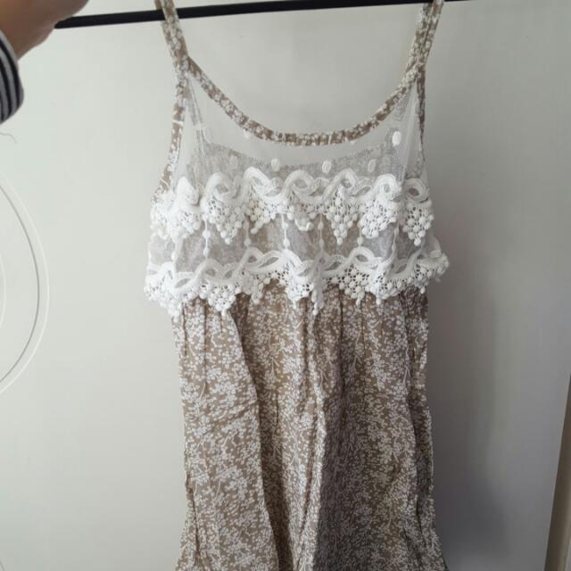 Mini Dress Fits Size 4 & 6