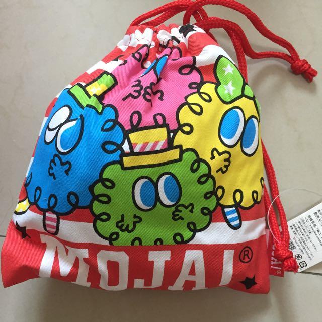 MOJA!束口袋-日本 化妝包、袋/收納袋、包