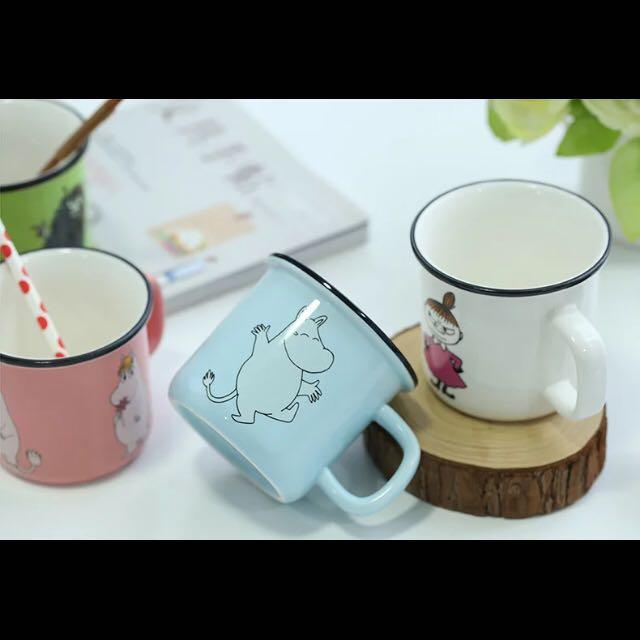 Moomin 陶瓷杯-嚕嚕米粉 嚕嚕米藍 亞美